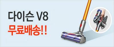 다이슨 V8 앱솔루트 몰테일앱 구매시 한국까지 무배