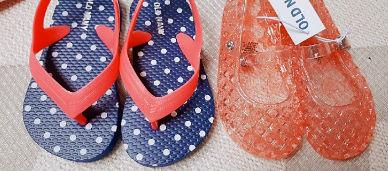 올드네이비 아동의류와 신발